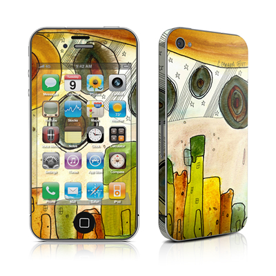 iPhone 4 Skin - City Life