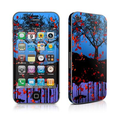 iPhone 4 Skin - Cold Winter