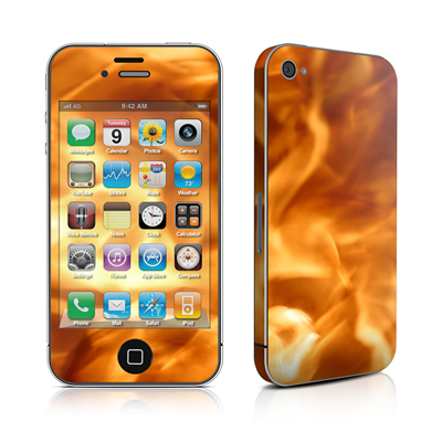iPhone 4 Skin - Combustion