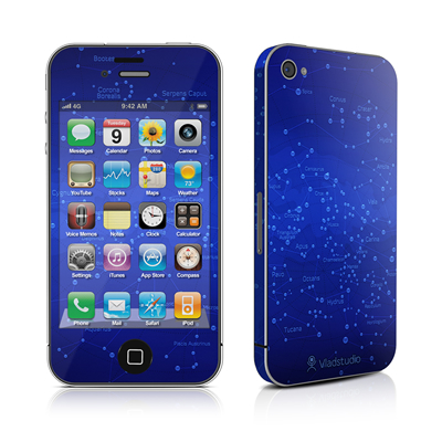 iPhone 4 Skin - Constellations
