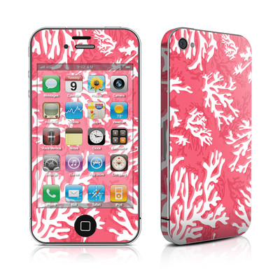 iPhone 4 Skin - Coral Reef