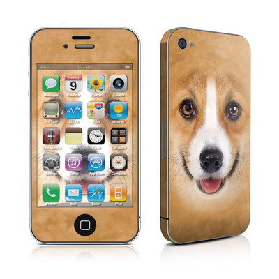 iPhone 4 Skin - Corgi