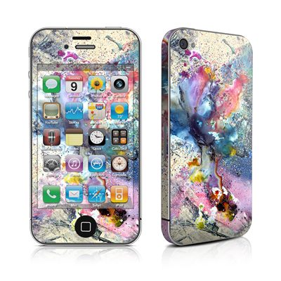 iPhone 4 Skin - Cosmic Flower