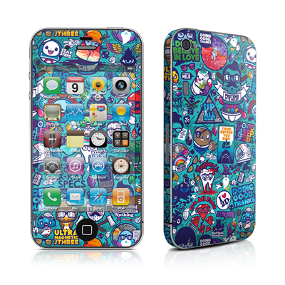 iPhone 4 Skin - Cosmic Ray