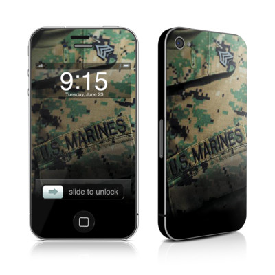 iPhone 4 Skin - Courage