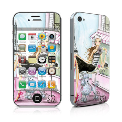iPhone 4 Skin - Cafe Paris