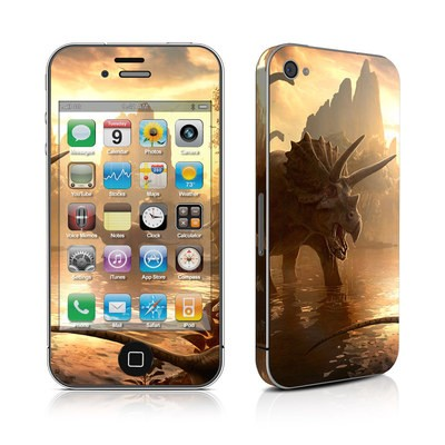 iPhone 4 Skin - Cretaceous Sunset