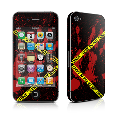 iPhone 4 Skin - Crime Scene
