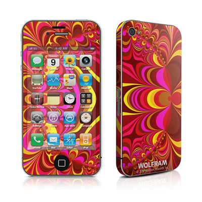 iPhone 4 Skin - Cyclotomic Contours