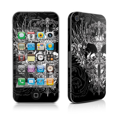 iPhone 4 Skin - Darkside