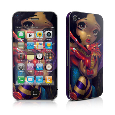 iPhone 4 Skin - Darling Dragonling