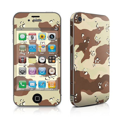 iPhone 4 Skin - Desert Camo