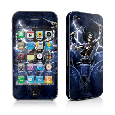 iPhone 4 Skin - Death Drummer