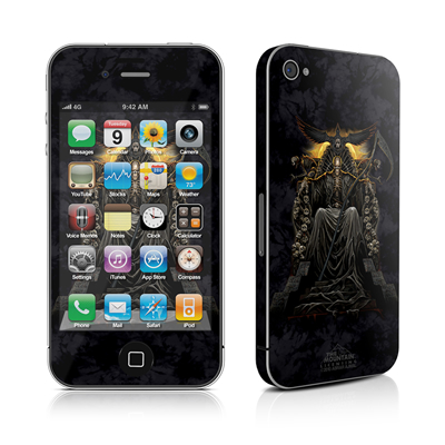 iPhone 4 Skin - Death Throne