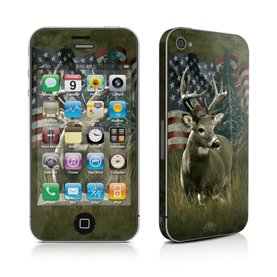 iPhone 4 Skin - Deer Flag