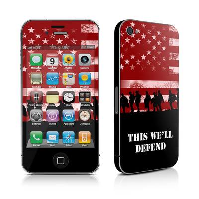 iPhone 4 Skin - Defend