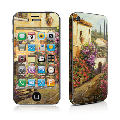 iPhone 4 Skin - Via Del Fiori
