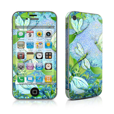 iPhone 4 Skin - Dragonfly Fantasy