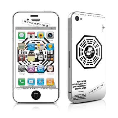 iPhone 4 Skin - Dharma