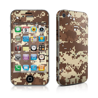 iPhone 4 Skin - Digital Desert Camo