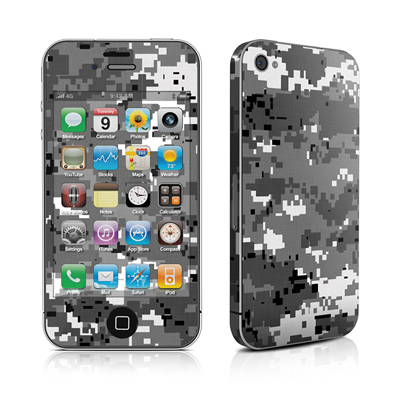 iPhone 4 Skin - Digital Urban Camo