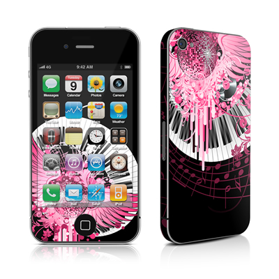 iPhone 4 Skin - Disco Fly