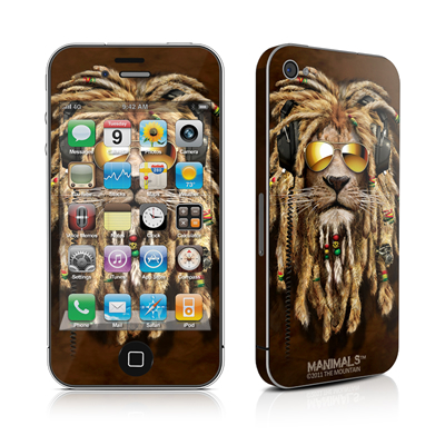 iPhone 4 Skin - DJ Jahman