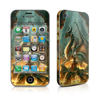 iPhone 4 Skin - Dragon Mage