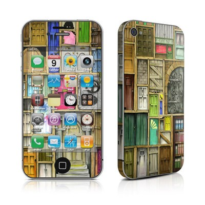 iPhone 4 Skin - Doors Closed