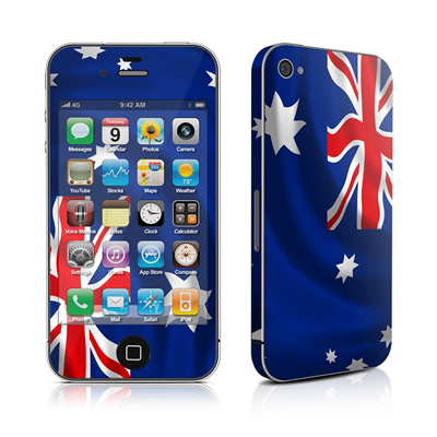 iPhone 4 Skin - Down Under