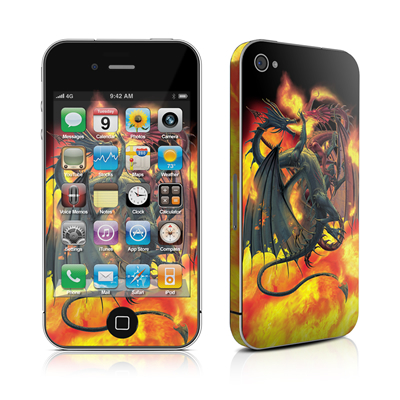 iPhone 4 Skin - Dragon Wars
