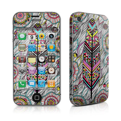 iPhone 4 Skin - Dream Feather