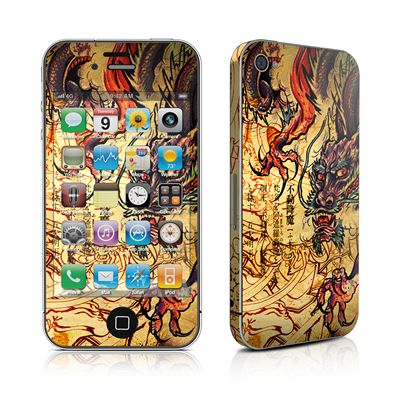 iPhone 4 Skin - Dragon Legend