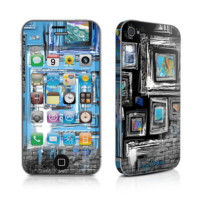 iPhone 4 Skin - Dripping Walls