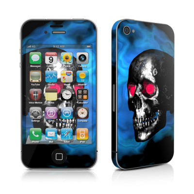 iPhone 4 Skin - Demon Skull