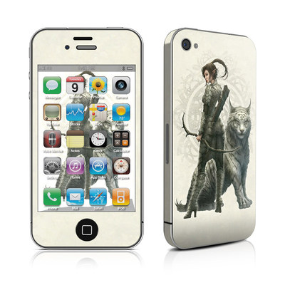 iPhone 4 Skin - Half Elf Girl