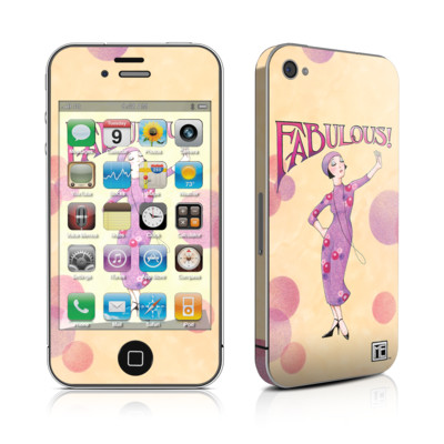 iPhone 4 Skin - Fabulous
