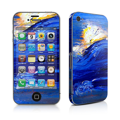 iPhone 4 Skin - Feeling Blue