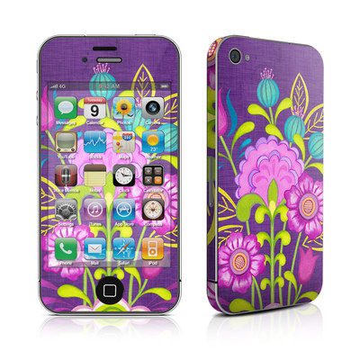 iPhone 4 Skin - Floral Bouquet