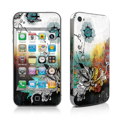 iPhone 4 Skin - Frozen Dreams