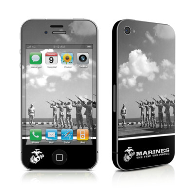 iPhone 4 Skin - The Few The Proud