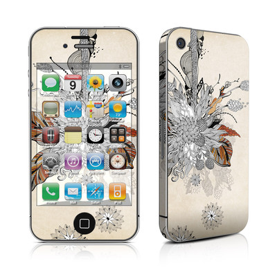 iPhone 4 Skin - Fall Floral