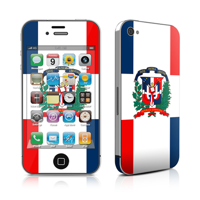 iPhone 4 Skin - Dominican Republic Flag