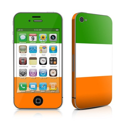 iPhone 4 Skin - Irish Flag