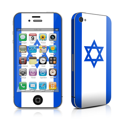iPhone 4 Skin - Israel Flag
