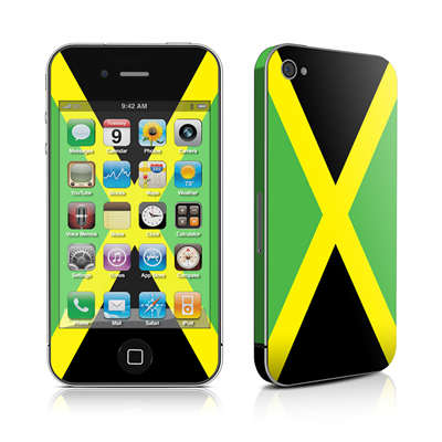 iPhone 4 Skin - Jamaican Flag