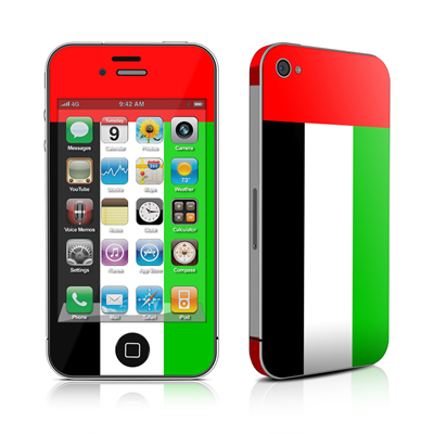 iPhone 4 Skin - United Arab Emirates Flag