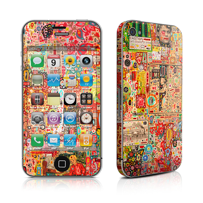 iPhone 4 Skin - Flotsam And Jetsam