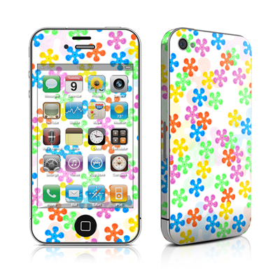 iPhone 4 Skin - Flower Power