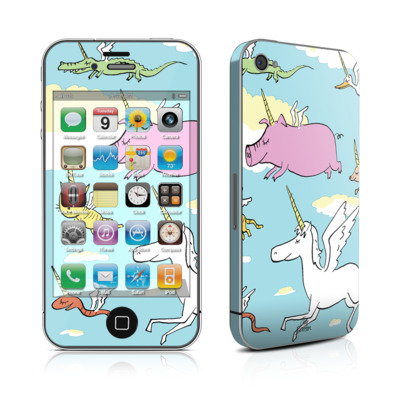 iPhone 4 Skin - Fly